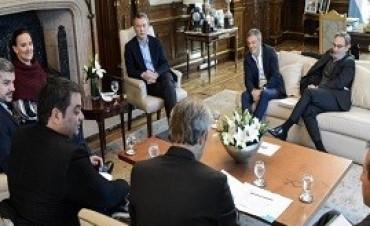 16/09/2017: Antes del inicio de la campaña, Macri encabezó una reunión de coordinación ampliada en Olivos