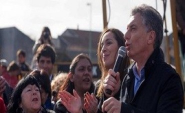 18/09/2017: En el inicio formal de la campaña, Macri se mostró junto a Vidal en el Conurbano
