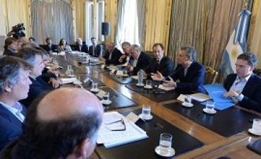 20/09/2017: Bordet participó de la reunión de la Mesa Forestal que convocó Macri