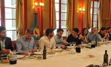 """21/09/2017: Almuerzo """"motivador"""" de los jefes de Gabinete con los candidatos de la Provincia"""