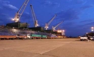 21/09/2017: Continúa la actividad en el puerto de Concepción del Uruguay