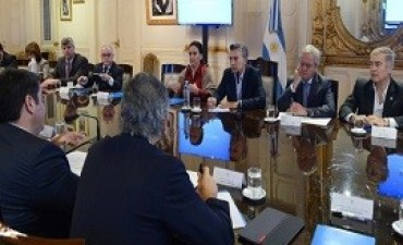 26/09/2017: Macri encabezó la habitual reunión de gabinete en la Casa Rosada