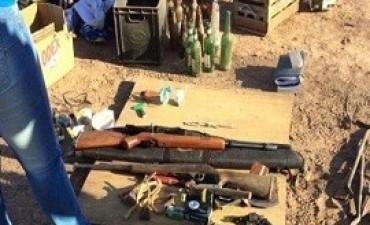 Investigan si mapuches trafican armas desde la Argentina a Chile