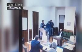 08/09/2018: Preso amenazó a juez y fiscal: