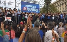 24/09/2018: Hugo Moyano Jubilados Mauricio Macri Multitudinaria marcha de las CTA: las movilizaciones continuarán