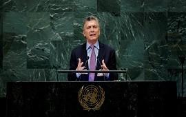 25/09/2018: Mauricio Macri en la ONU:
