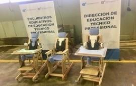 01/09/2018: Estudiantes de escuelas técnicas aprenden a construir sillas posturales y arnés en Colón
