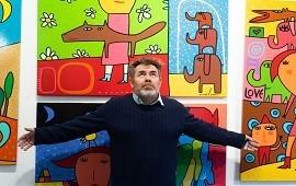03/08/2018: Milo Lockett expondrá su arte, que convoca a la niñez, en Paraná