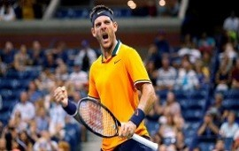 04/09/2018: US Open: Del Potro remontó el partido ante Isner y avanzó a semifinales