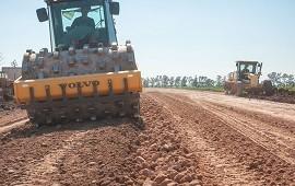 07/09/2018: Se realizan trabajos para el mejoramiento de rutas en el departamento Gualeguaychú