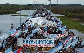 """02/09/2019: La Asamblea Ambiental de Gualeguaychú le dijo a Bordet que el conflicto por Botnia """"no ha concluido"""""""