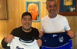 05/09/2019: Diego Armando Maradona confirmó su llegada a Gimnasia: