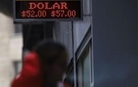 06/09/2019: El dólar se mantiene estable y cerró a $57 por quinto día concesucutivo