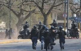 06/09/2019: Una marcha gremial en Córdoba terminó con graves incidentes: varios heridos y 10 detenidos