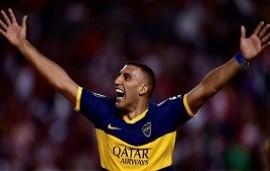 10/09/2019: Boca | La emoción de Wanchope Ábila cuando se confirmó que le habían comprado el pase