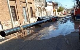 17/09/2019: Por obras en las cañerías, una zona de Concordia podría sufrir restricciones en el suministro de agua