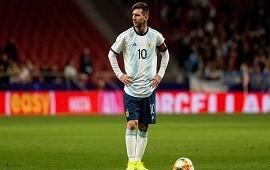 19/09/2019: Lionel Messi, en la Selección argentina: la AFA pidió a la Conmebol que le levante la sanción para que vuelva ante Alemania