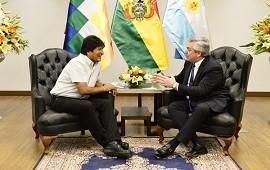 19/09/2019: Alberto Fernández se reunió con Evo Morales