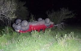 23/09/2019: Un hombre sufrió lesiones graves tras volcar en su camioneta y debió ser hospitalizado