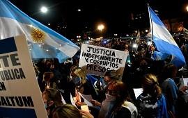 28/09/2020: Marcha y vigilia en Tribunales para respaldar a los jueces desplazados por el Gobierno