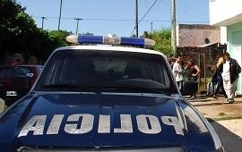 15/09/2020: Laferrere: vecino balea a policías que custodiaban a empleados de Edenor