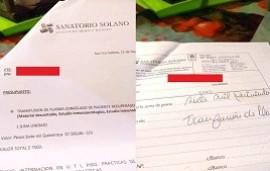 16/09/2020: Quilmes: denuncian que una clínica cobró $7.500 por realizar una transfusión de plasma