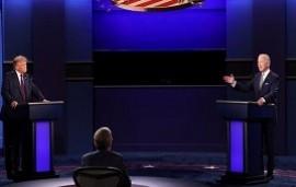 29/09/2020: primer debate presidencial en Estados Unidos entre Donald Trump y Joe Biden