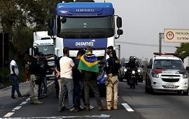 10/09/2021: Brasil: camioneros ultraderechistas bloquean rutas en apoyo a Bolsonaro