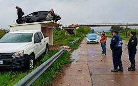 23/09/2021: ¿Cómo llegó ese auto hasta ahí? La explicación del increíble accidente del que habló el país