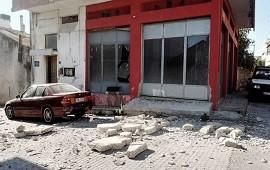 27/07/2021: Grecia: un muerto y nueve heridos por un sismo en Creta