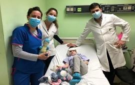 27/09/2021: Un niño de 4 años recibió un implante coclear bilateral en el Hospital Masvernat