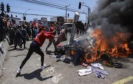 28/09/2021: Chile: violenta marcha contra los migrantes de Venezuela