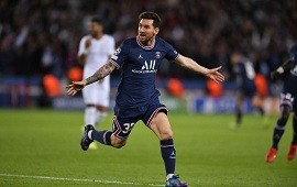 28/09/2021: Messi marcó su primer gol con la camiseta del PSG