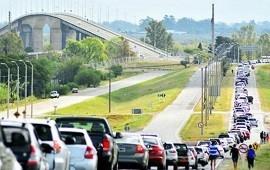 """01/09/2021: Alarma al otro lado del río ante una """"incidencia negativa"""" de la apertura fronteriza"""