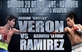 """HOY 29 NUESTRO PUGIL CONCORDIENCE ALEJANDRO LA """"FURIA"""" RAMIREZ  ENFRENTA A ADRIAN """"CHUCKI"""" VERON POR EL TITULO """" OMB LATINO WELTER"""" EN NEUQUEN"""