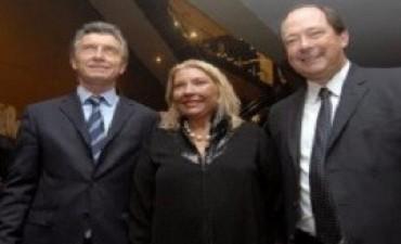 Macri, Carrió y Sanz relanzan Cambiemos