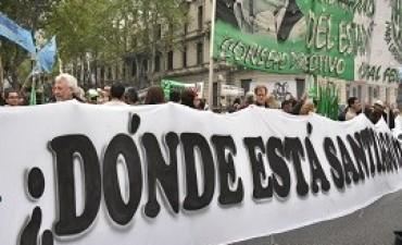 01/10/2017: Multitudinaria marcha, a dos meses de la desaparición de Santiago Maldonado
