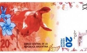 03/10/2017: Oficializaron el nuevo billete de $20 con la imagen del guanaco