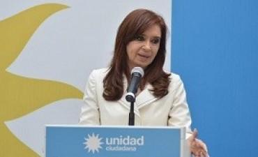 10/10/2017: Cristina Kirchner acusó a Mauricio Macri de