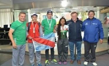 11/10/2017: Llegaron las primeras medallas para Entre Ríos de los Juegos Evita