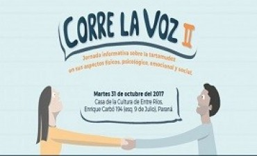 17/10/2017: Realizarán jornada de sensibilización sobre la Tartamudez
