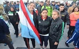 23/10/2018: Macadam y Coppola portaron la bandera de Entre Ríos en la final nacional de los Juegos Evita