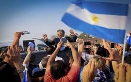 07/10/2019: Macri encabezó la marcha del