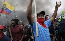 08/10/2019: Crisis en Ecuador: Lenín Moreno mudó el Gobierno a Guayaquil por las multitudinarias protestas contra la suba de los combustibles