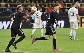 09/10/2019: Con dos Lucas, Alario y Ocampos, Argentina empató con Alemania en Dortmund
