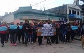 14/10/2019: Marcharon hasta Tribunales para pedir la libertad del policía imputado por la muerte de Iván Pérez