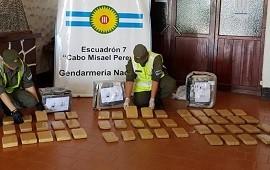 16/10/2019: Secuestran más de 107 kilos de marihuana trasladados en la Ruta Nacional 14