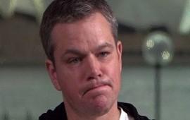 02/10/2019:  Matt Damon reveló cómo perdió 250 millones de dólares