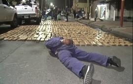 08/10/2019: Lanús: secuestran dos toneladas de marihuana tras una persecución y un tiroteo