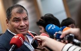 09/10/2019: Crisis en Ecuador: Rafael Correa pidió adelantar las elecciones y se ofreció como candidato